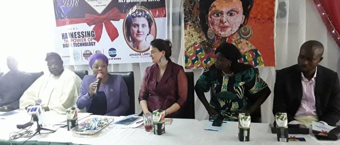 WorldPulse Meet-Up Event – Jensine Larsen (WorldPulse Founder) in Nigeria.