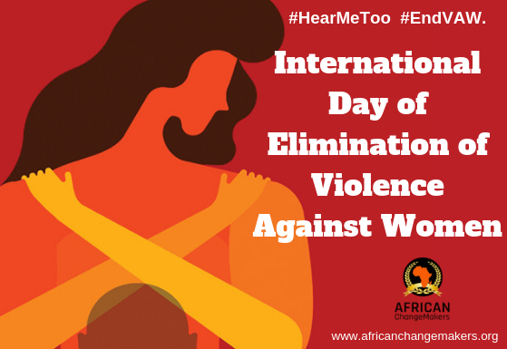 International Day for the Elimination of Violence Against Women.