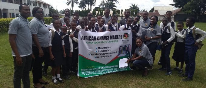 African ChangeMakers Fellows Cohort 2 in Akwa -Ibom, Nigeria Community Project. PART 2.